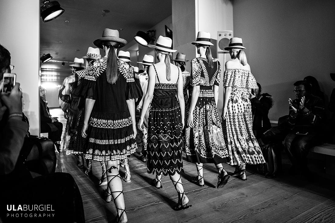 London Fashion Week 2016 photography Ula Burgiel catwalk Temperley