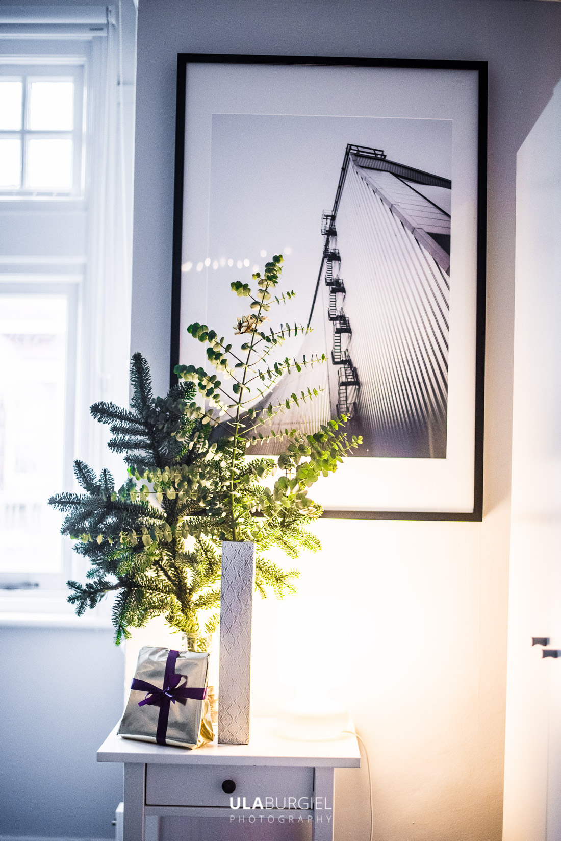 Ula Burgiel Interior Designer Photographer living in London - Christmas decorations without plastic tips
