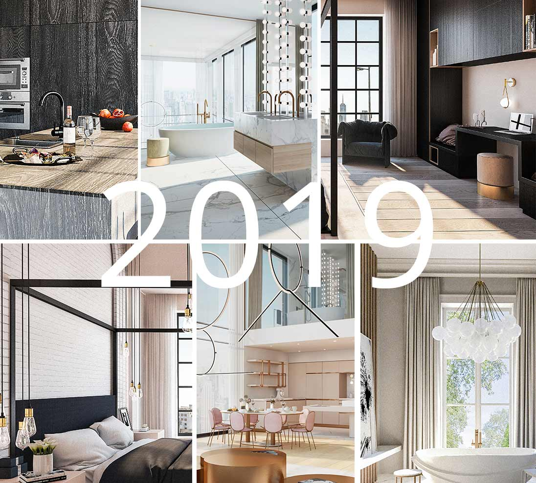 Interior design trends 2019 london based interior - Interior design trends 2019 ...